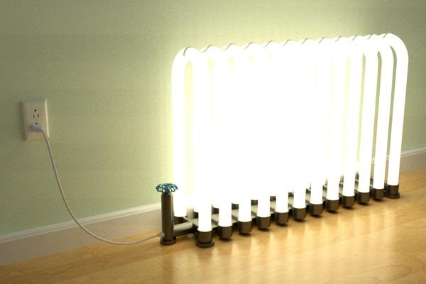 Radiant Floor Lamp