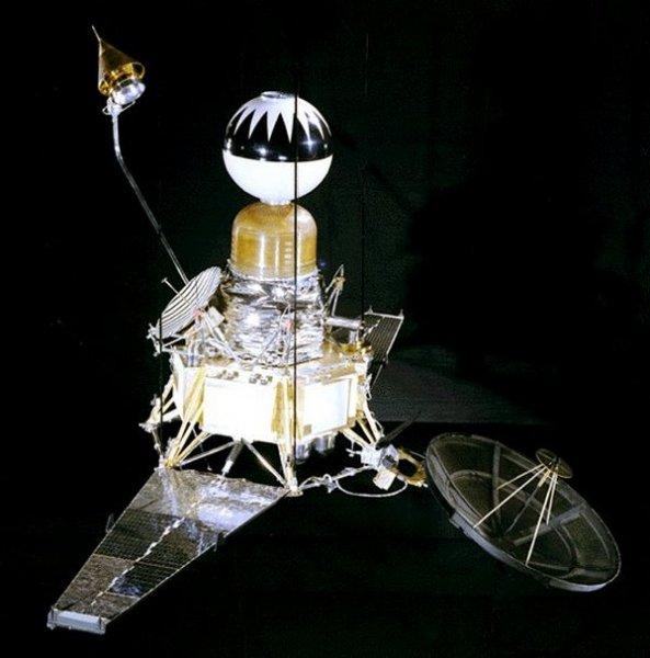 Космический аппарат Рейнджер-4 (США, апрель 1962 г.).