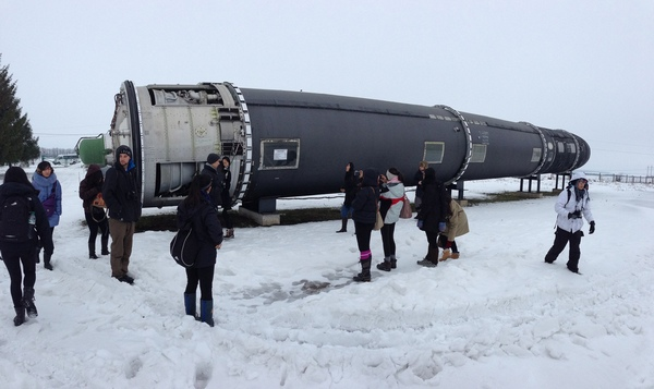 Межконтинентальная баллистическая ракета Воевода.