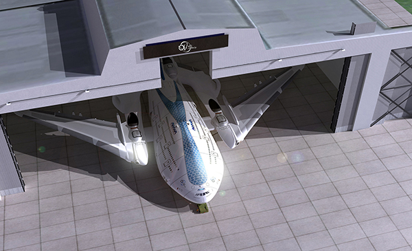 Концепт пассажирского самолета Sky Whale