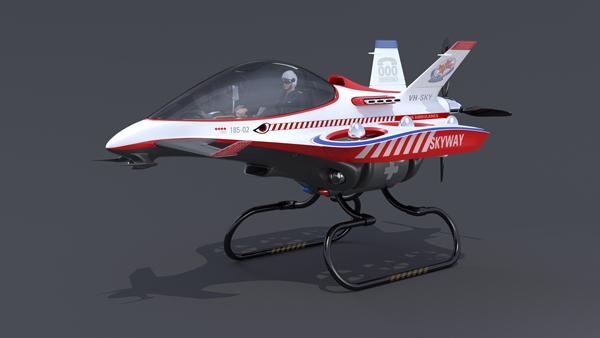 Концепт вертолета скорой помощи Skyway