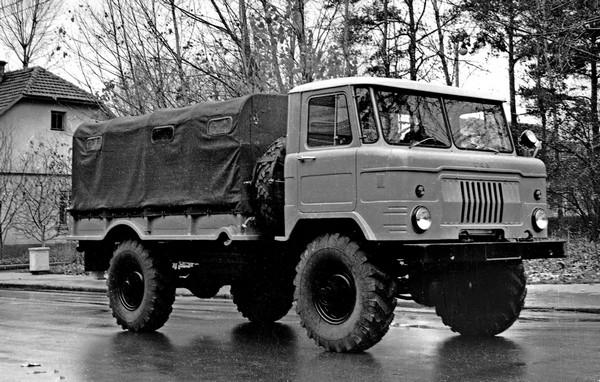 ГАЗ-66 – грузовой внедорожник. Источник фото: topwar.ru