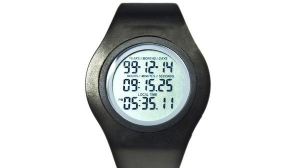 Часы Tikker – обратный отсчет до смерти владельца. Источник фото: Kickstarter