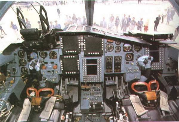 В кабине пилота Су-34. Фото:www.baomoi.com