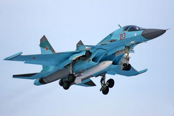 Бомбардировщик Су-34 поколения 4+. Фото: blogspot.com