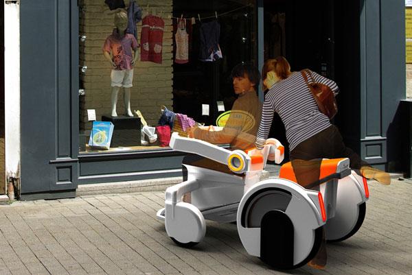 Концепт скутера для инвалидов-колясочников