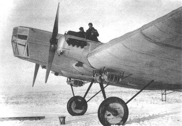 Бомбардировщик ТБ-1 - крылатая гордость России. Фото: yakutskhistory.net