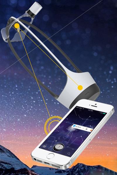 Сессию наблюдения можно записать прямо в смартфон.