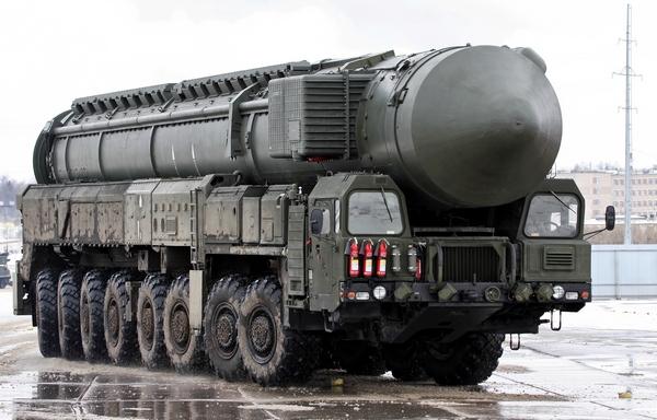 Межконтинентальный стратегический комплекс Тополь-М.