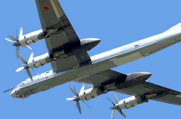 Бомбардировщик Ту-95. Фото: airforceworld.com