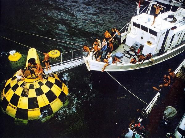 Подводные города от Жака-Ива Кусто. Источник фото: Pinterest.com