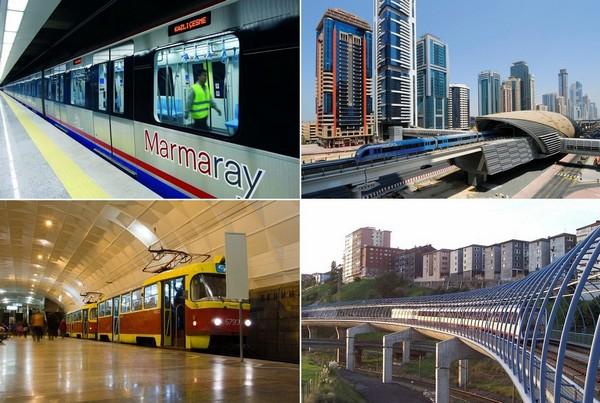 10 самых примечательных линий метрополитена в мире