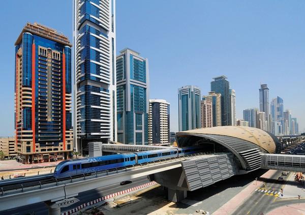 Самая роскошная линия. Метрополитен Дубаи