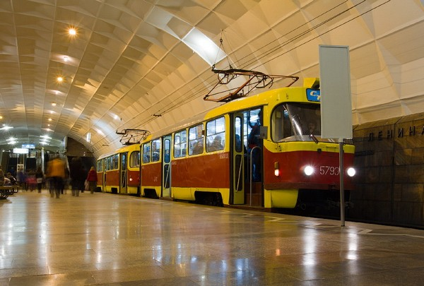 Подземный трамвай в районном центре. Кривой Рог