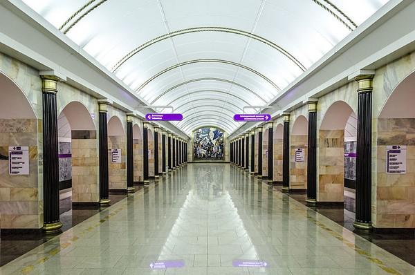 Станция «Адмиралтейская». Метрополитен Санкт Петербурга