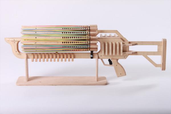 Автоматический пулемет украинского инженера Александра Шпетного.