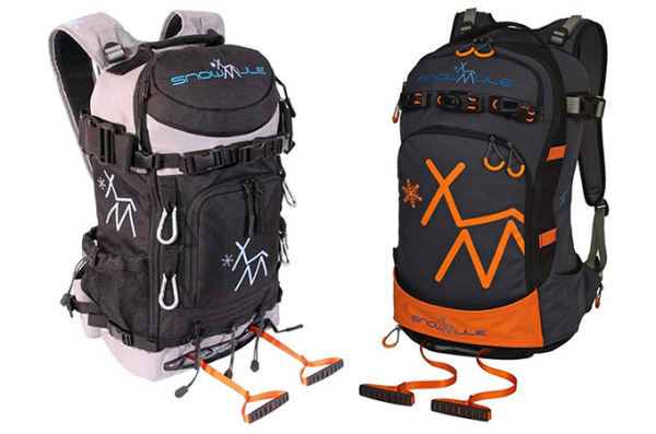 Рюкзаки Snowmule для активного отдыха.
