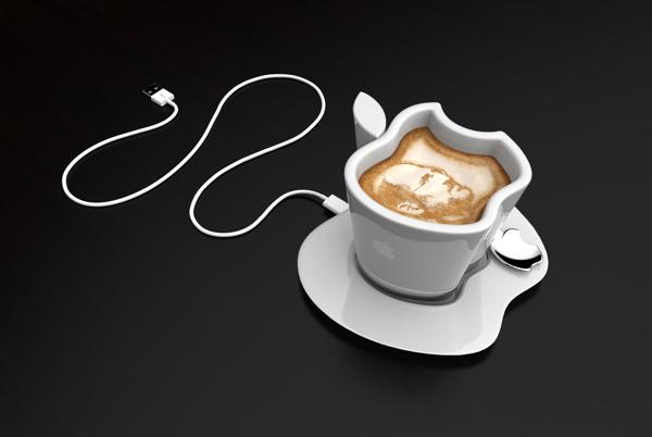 Apple iCup: чашка с подогревом