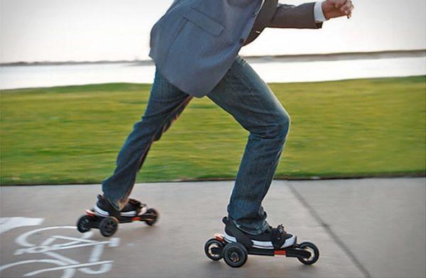 Трехколесные универсальные ролики Cardiff Skates.