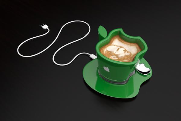 Apple iCup сохранит кофе горячим