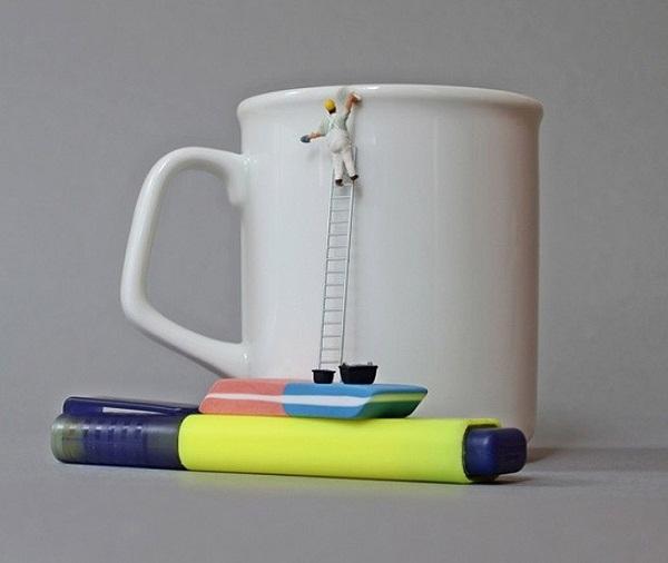 Кто подтирает подтеки на чашках