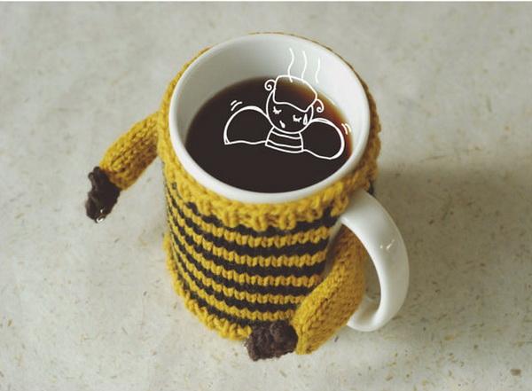 Теплые свитера для посуды Mug Sweater