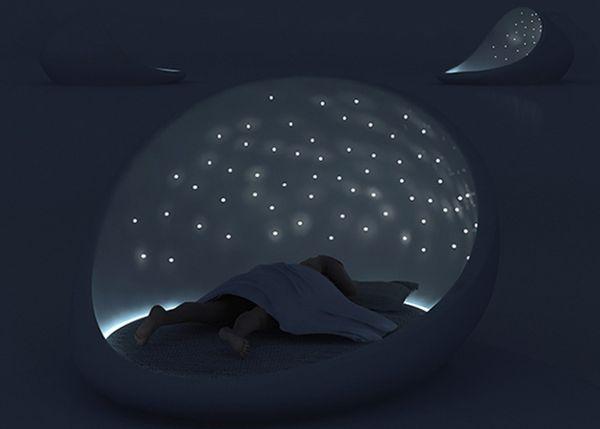 Cosmos Bed: для тех, кто любит спать под звездами
