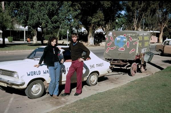 Дэвид Кунст и Дженни Сэмюэл. Источник фото: home.earthlink.net