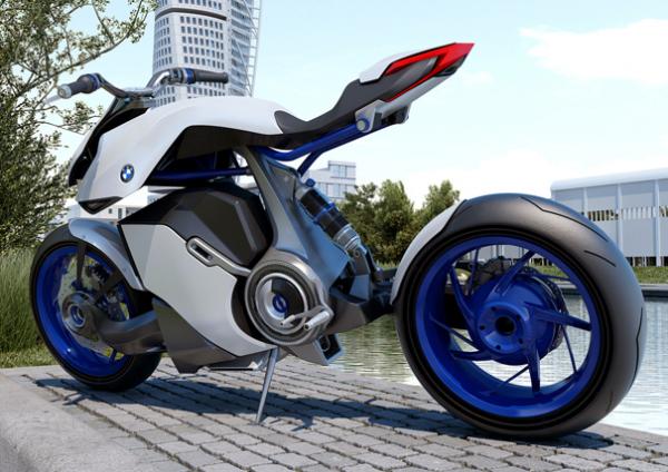 Концепт мотоцикла BMW HP Kunst