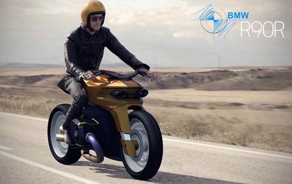Концепт кафе-рейсера BMW R90R