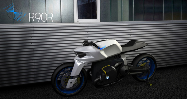 Концепт BMW R90R