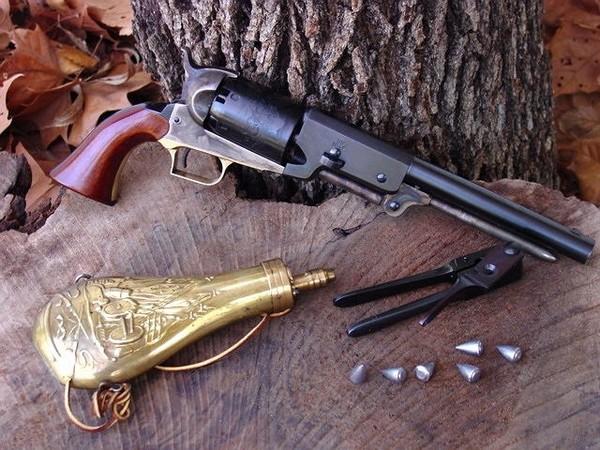 Револьвер Colt Walker. Источник фото: thetruthaboutguns.com