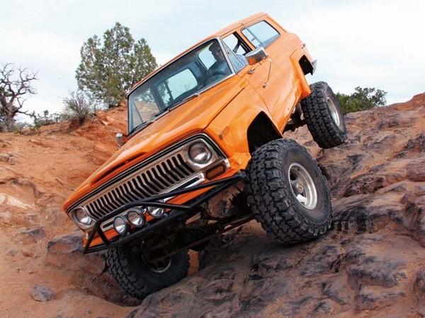 Jeep Cherokee – долгоиграющая легенда. Источник фото: pirate4x4.no