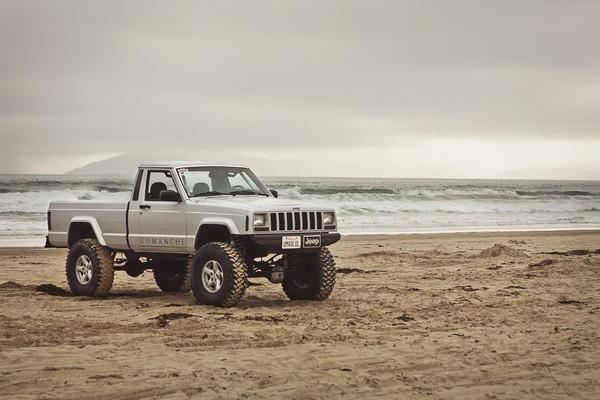 Jeep Comanche – новое поколение пикапов. Источник фото: kateindeed.deviantart.com