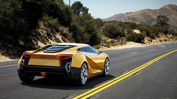 Концепт Lamborghini Querderro
