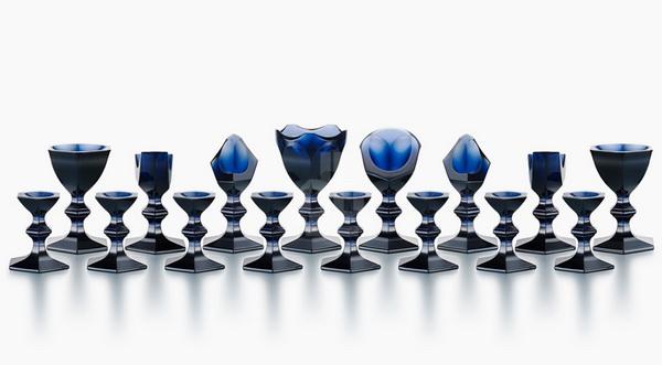 Уникальные хрустальные шахматы для Baccarat