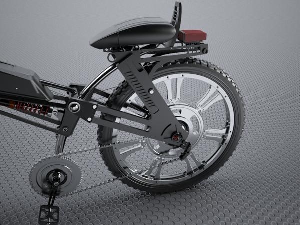 Концепт велосипеда Oscar Navarro