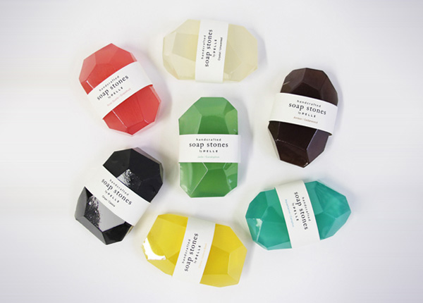 Коллекция мыльных камней от студии Pelle.
