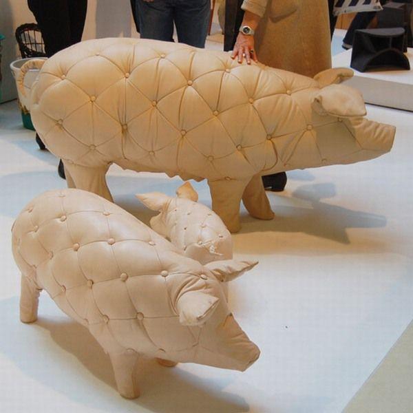 Пуфики-свиньи