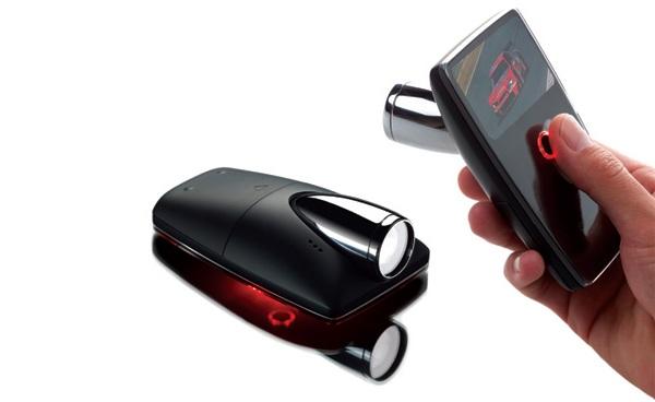 Концепт карманной камеры Pioneer Hi-def