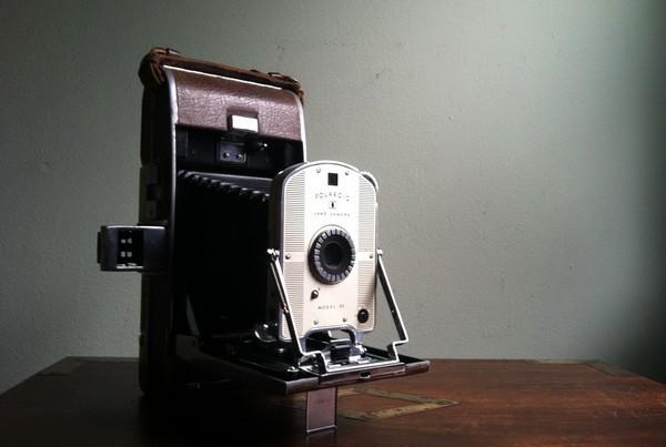 Фотокамера Polaroid Model 95. Источник фото: jimhansen6.wordpress.com