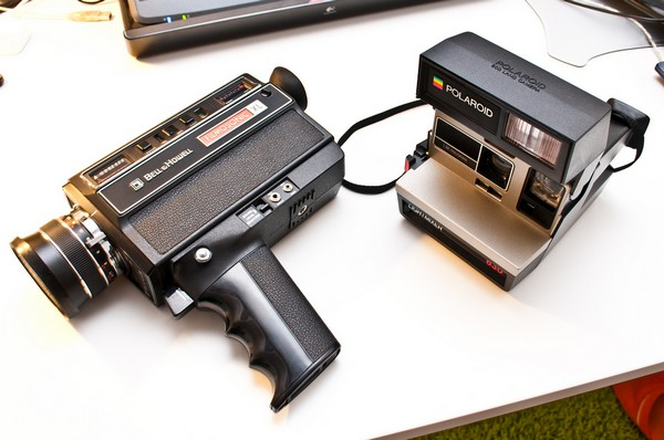 Фотопленка от Polaroid. Источник фото: Flickr