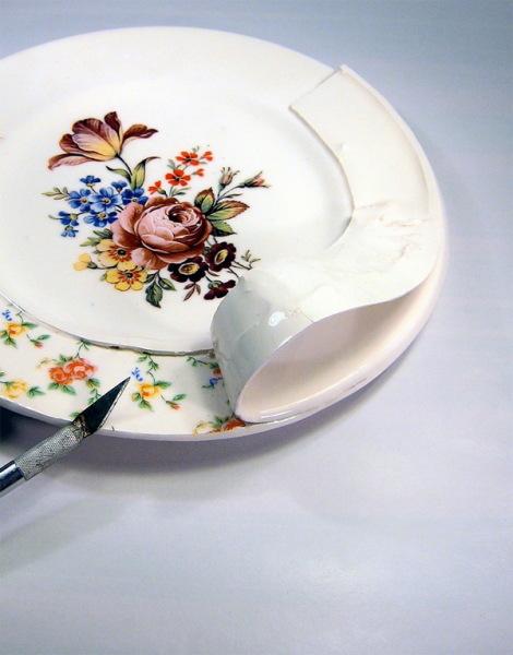 Тарелка от Beccy Ridsdel