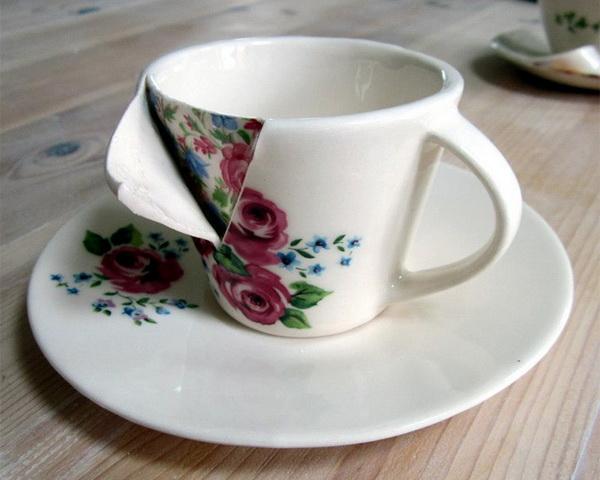 Прооперированная чашка от Beccy Ridsdel