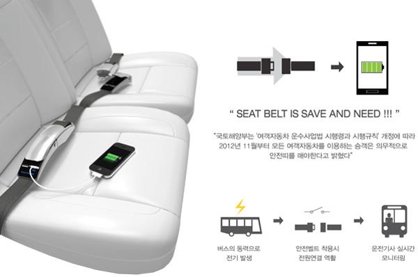 Концепт Smart Seatbelt
