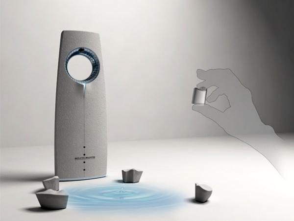Sound Scape оснащен проектором