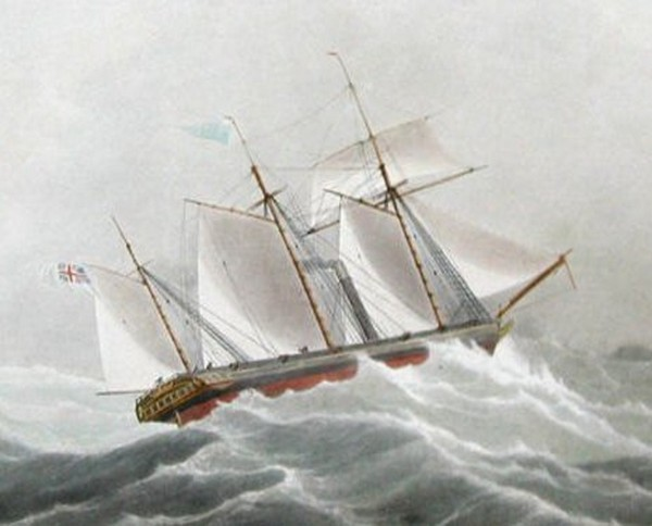Архимед – первый винтовой пароход. Источник фото: gigaszhajok.com