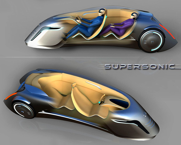 Интерьер Supersonic