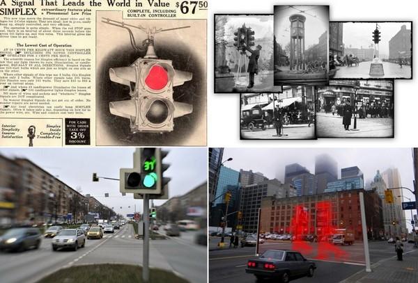 История светофоров от 19 века до наших дней