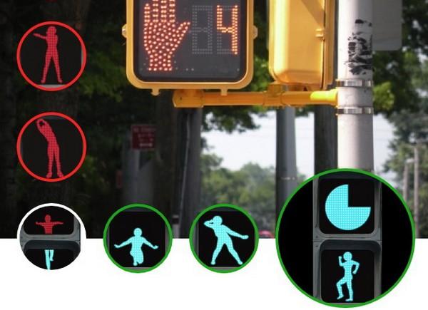 Анимированный фитнесс-светофор. Источник фото: modernottawa.blogspot.com